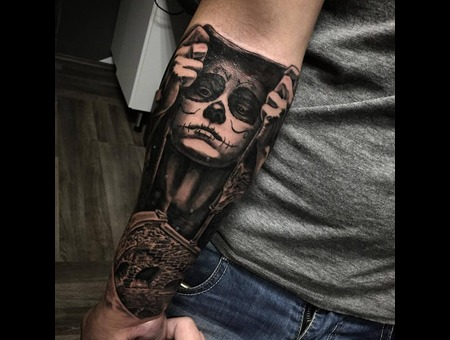 Day Of The Dead  Forearm