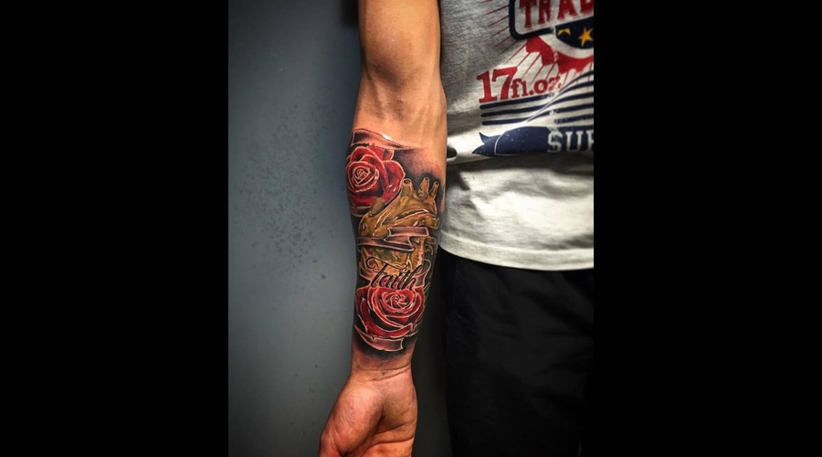 Heart Of Gold  Forearm