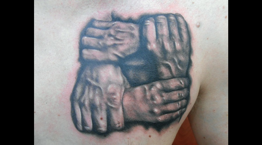 Hands  Family  Bond  Brothers Chest