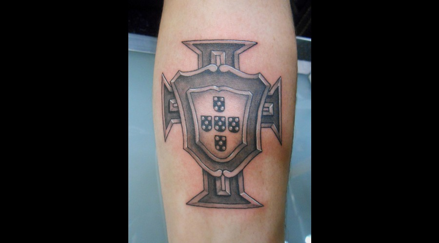 Portuguese  Portugal  Badge  Emblem  Cross   Forearm