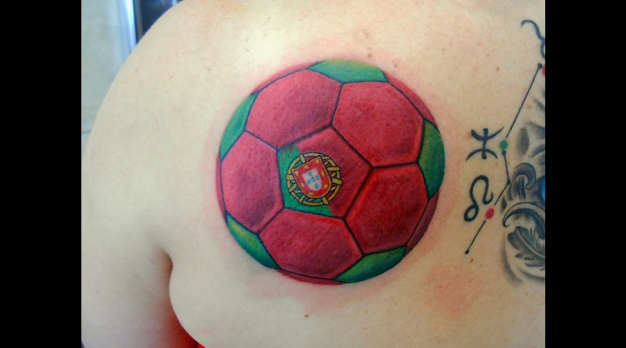 Portuguese  Portugal  Soccer  Ball  Football Shoulder