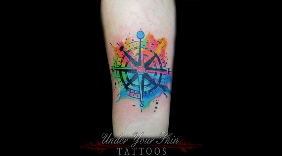 Watercolor Forearm