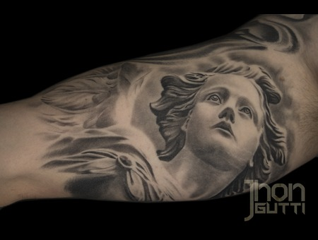 Angel Statue  Healed  Realistic Angel Arm