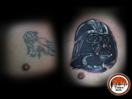 Coverup  Darth Vader  Star Wars Chest