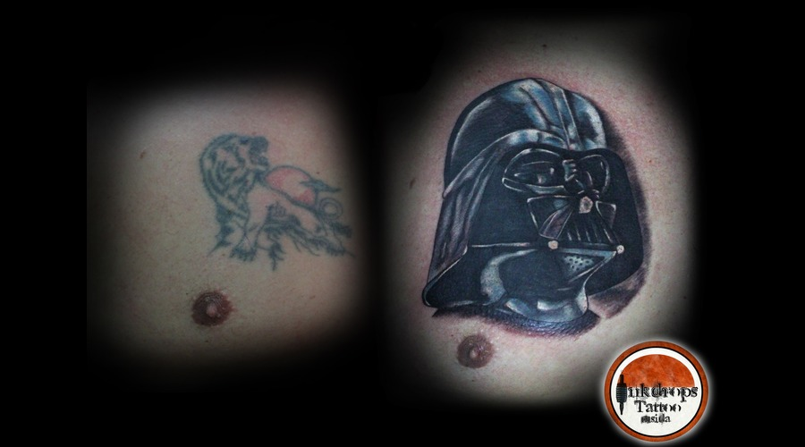 Coverup  Darth Vader  Star Wars Chest
