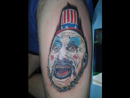 Portrait Sid Zombie Devils Rejects Color