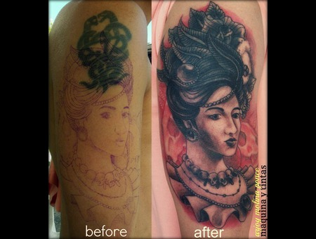 Coverup  Traditional Shoulder