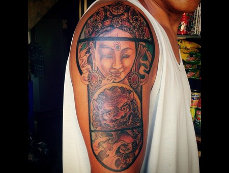 Traditional Asian Shoulder