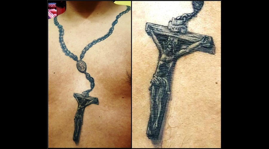 Rosary  Rosario  Cristo  Christ  Jesus  Jesús  Jesucristo  Crucifijo   Chest