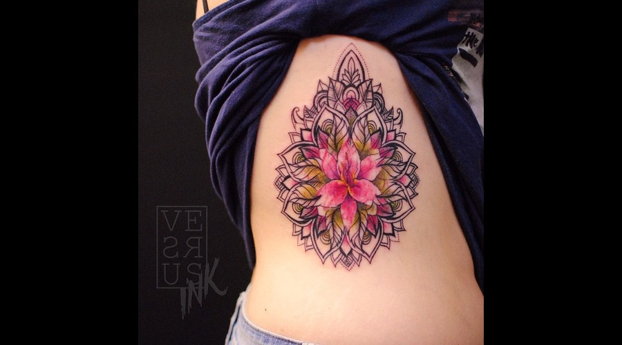 Watercolour  Geometry  Watercolor  Mandala  Art  Lace  Flower  Space  Uk Ribs