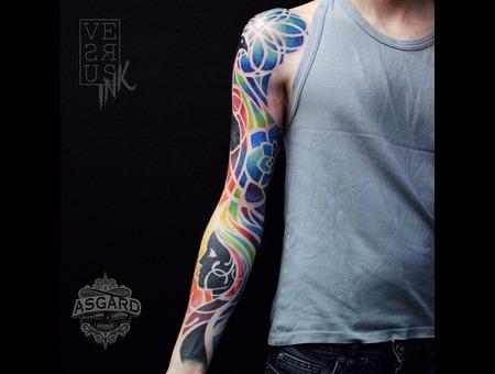 Watercolour  Geometry  Watercolor  Mandala  Art  Lace  Flower  Space  Uk Arm