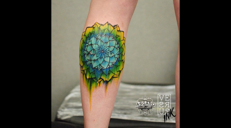 Watercolour  Geometry  Watercolor  Mandala  Art  Lace  Flower  Space  Uk Lower Leg