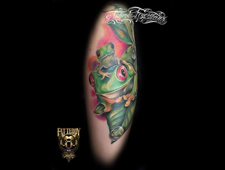 Frog  Color  Colour   Forearm