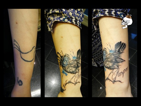 Bluethroat Cover Up
