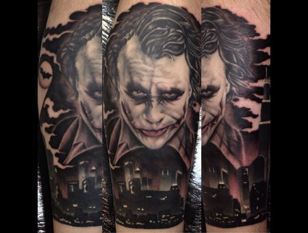 The Joker  Lower Leg