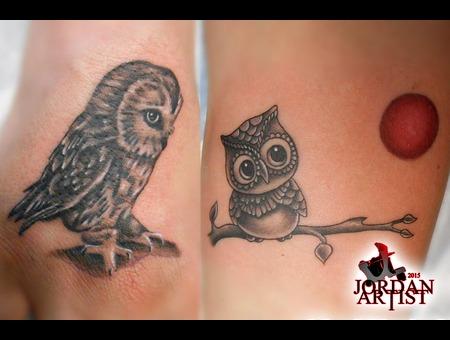 Owl  Cute Forearm