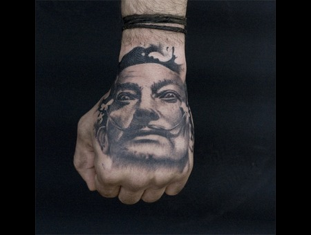 Salvador Dali Arm