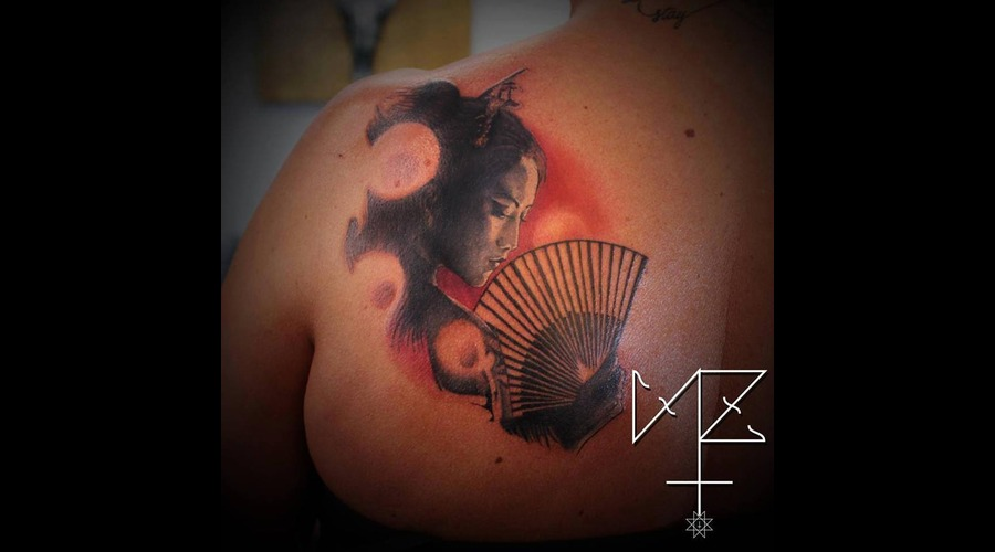 Geisha Color Back