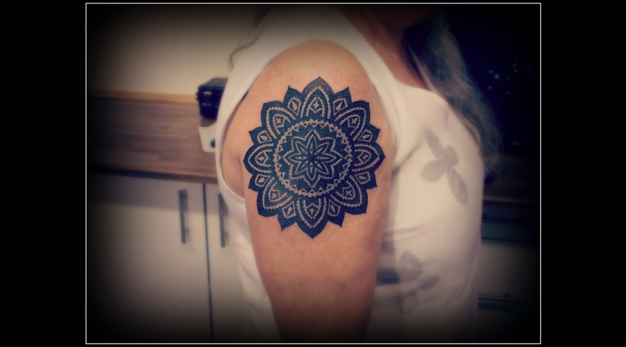 Mandala  Cover Up Arm