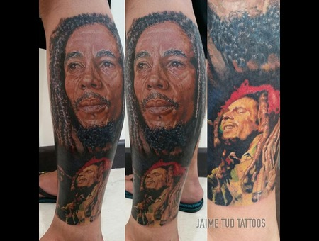 Bob Marley  Reggae Lower Leg