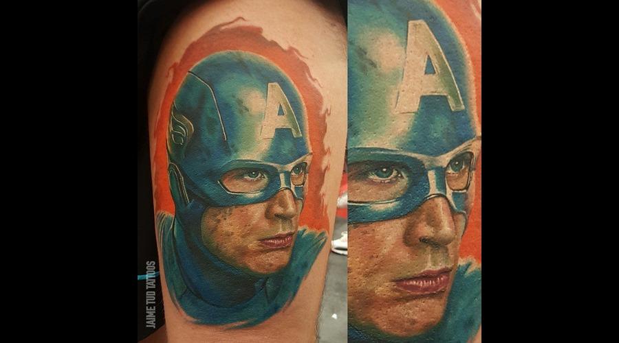 Captain America  Marvel Thigh