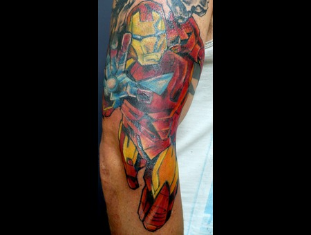 Marvel Comics Iron Man Arm