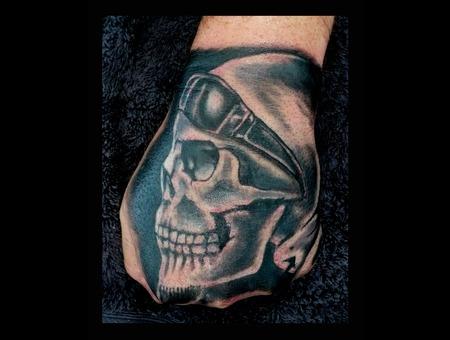 Hand Skull Arm