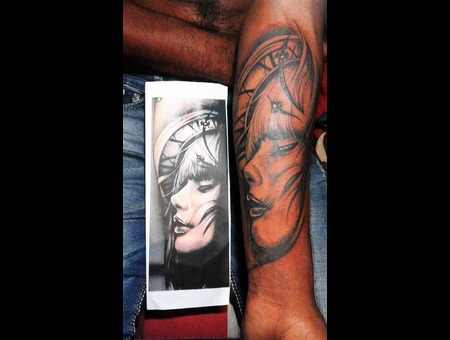 My Tattoo Arm