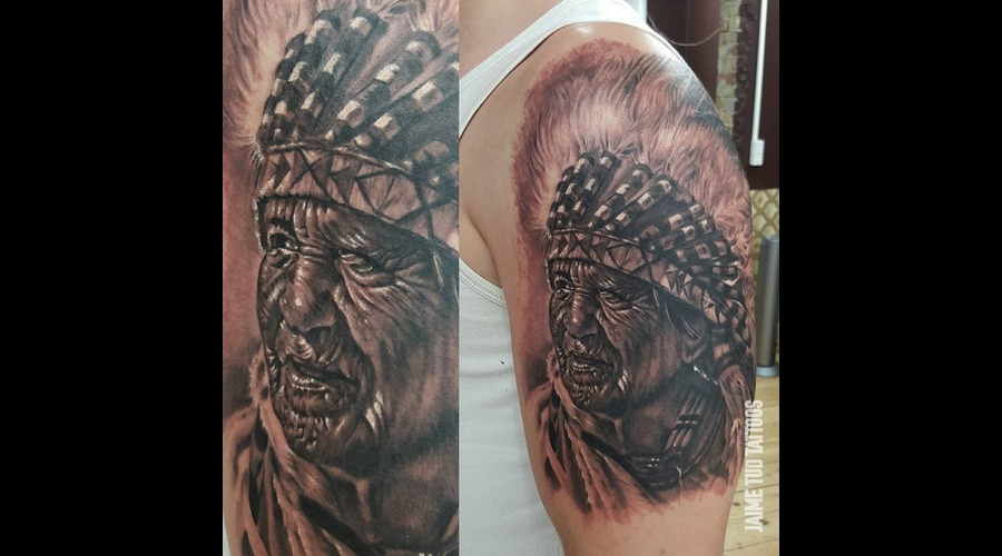 Native American Arm
