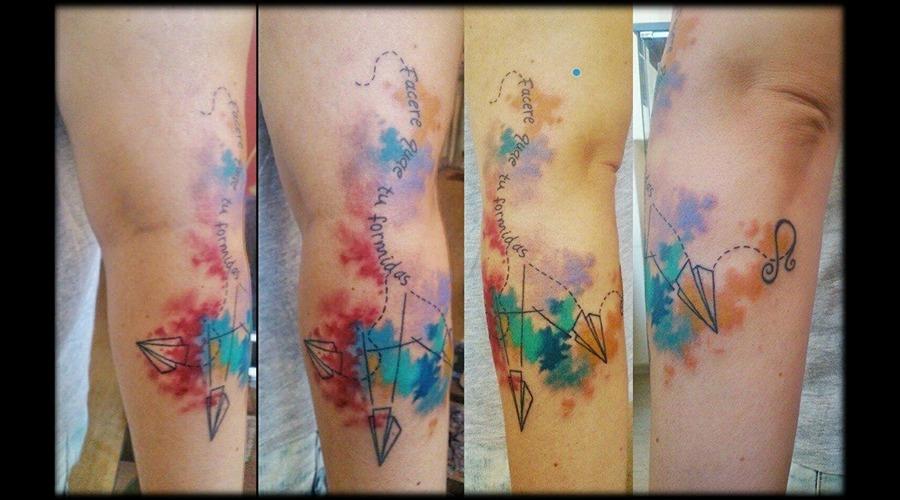 Watercolor Arm