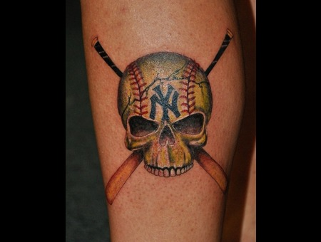 Sports  Skull Lower Leg