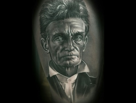 Portrait   Realism  Black And Grey Thigh