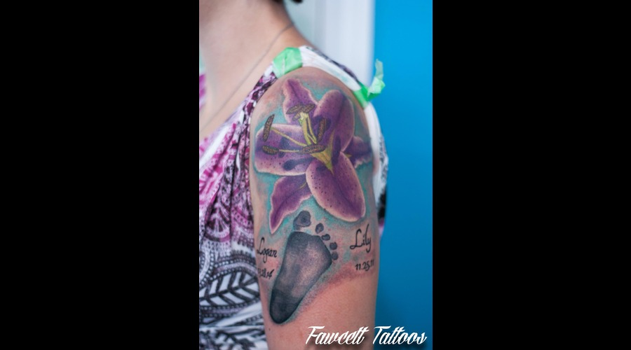 Color Realism  Realistic Flower Arm