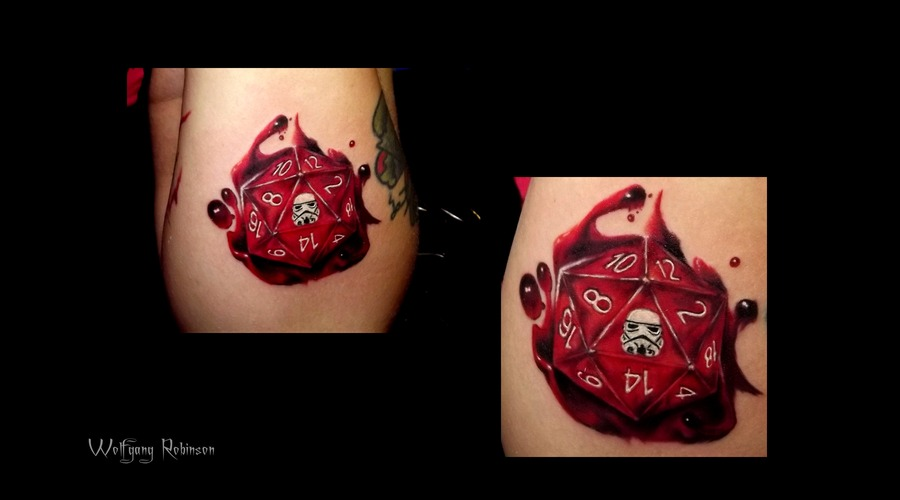 D20 With A Storm Trooper  Forearm