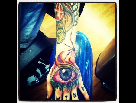 Eye Color  Bomb  New School Arm