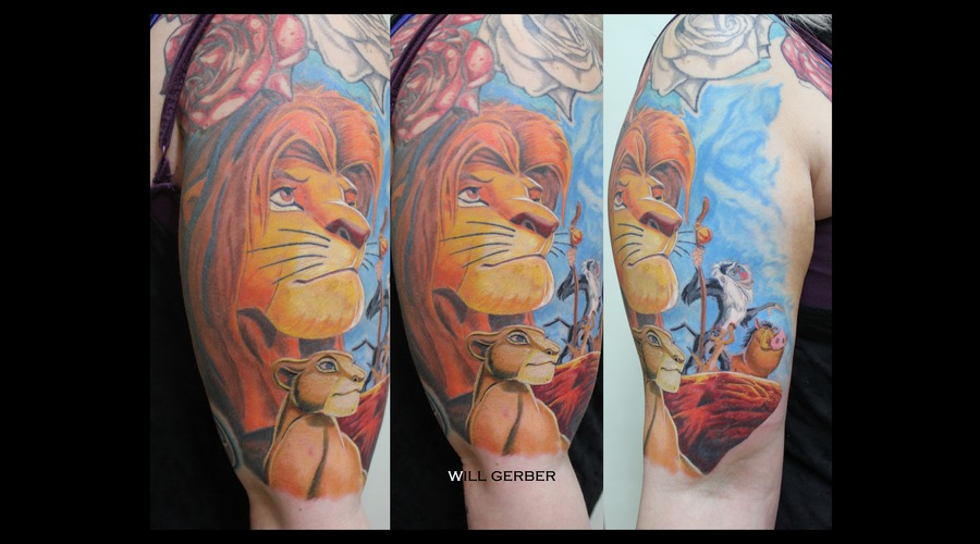 Disney  Lion King  Cartoons Shoulder