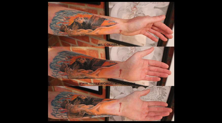 Religious  Jesus  Divine Forearm