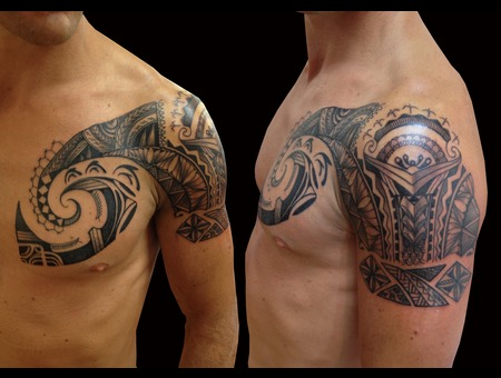 Tattoo  Polynesian  Polynesian Tattoo  Tribal Tattoo Chest