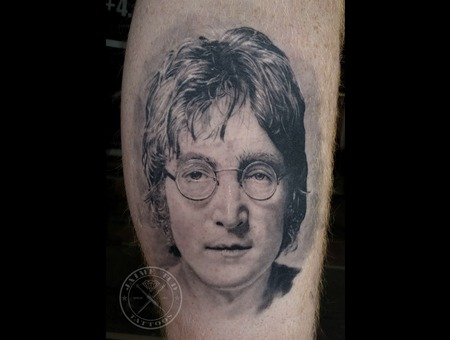 John Lennon Lower Leg