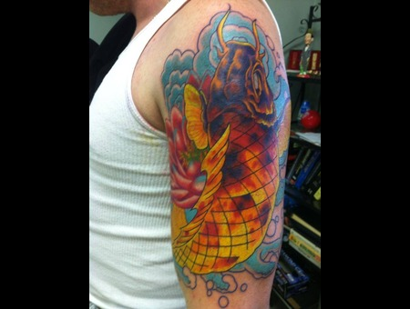 Koi  Fish  Colorbomb Arm