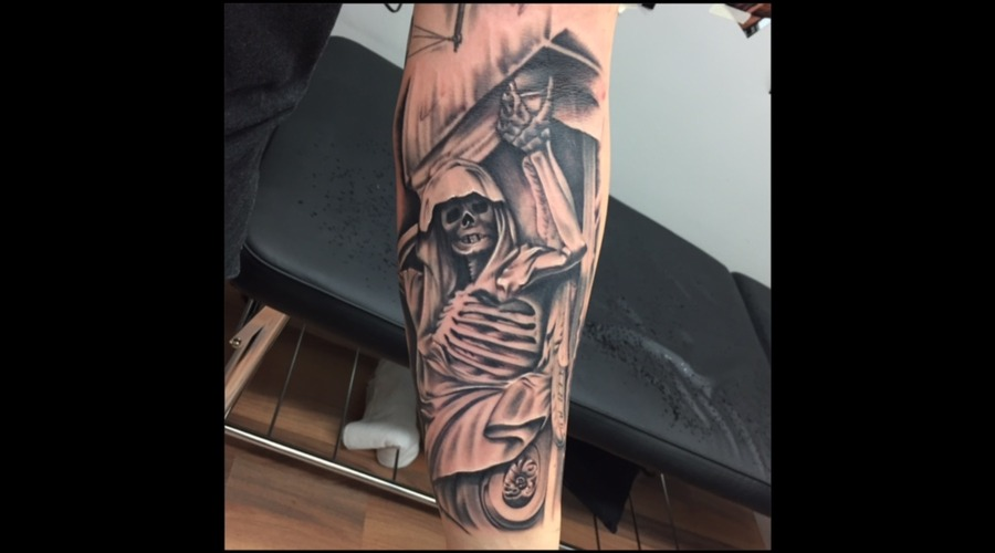 Crypt Keeper  Realism  Skeleton  Skull  Statue   Forearm