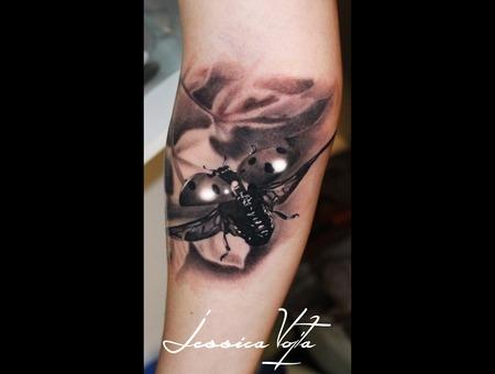 Ladybug  Nature Forearm