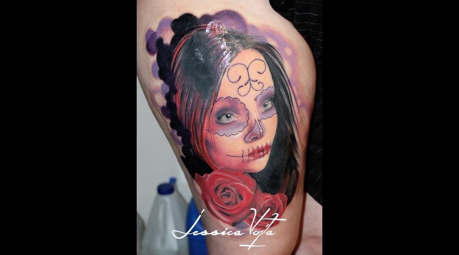 Muerta  Roses Thigh