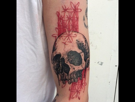 Tattoo  Art  Skull  Trashy Arm