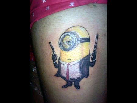 Minion Color Thigh
