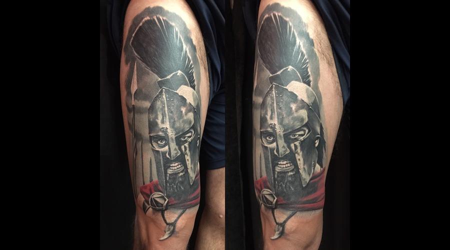 #Spartan  Black Grey