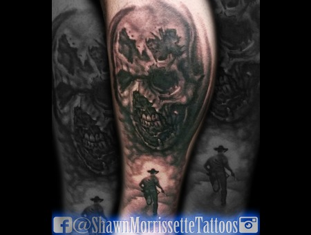 The Walking Dead Leg Piece Lower Leg