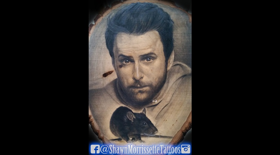 Pencil On Wood Of Charlie Day From Its Always Sunny In Philidelphia