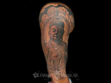 Buddha  Thai  Japanese Black White