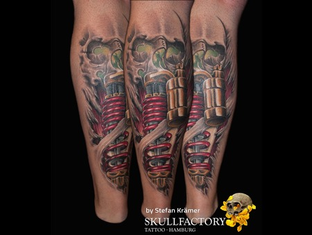 Skull Suspension  Color Lower Leg